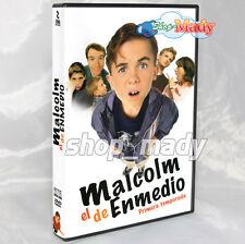 MALCOLM IN THE MIDDLE SEASON 1 DVD en Español Latino Región 1 y 4 NTSC