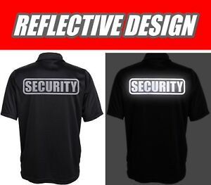 SECURITY Polo REFLECTIVE design, Performance Polo w/ moisture wicking technology