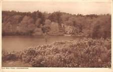 uk11869 old moll pond crowborough  real photo  uk