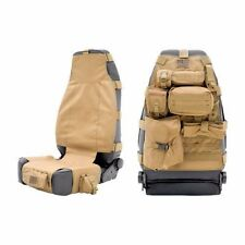 SmittyBilt GEAR Front Seat Cover Tan For 87-16 Jeep Wrangler YJ TJ LJ JK -1pc