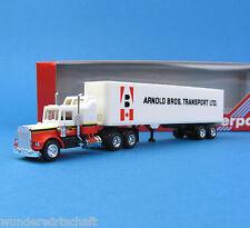 Herpa H0 850008 KENWORTH CON Sleeper Koffer-Sattelzug A.B. Canada Truck HO 1:87