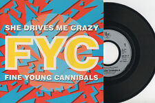 "FINE YOUNG CANNIBALS ► She Drives Me Crazy - 45 Trs / 7"" Vinyle - FRANCE - 1988"