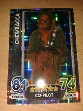 Force Attax Star Wars neue Serie Movie 4 Holo-Card Nr. 196 Chewbacca Sammelkarte