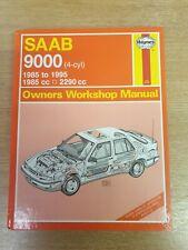 Saab 9000 1985-1995 Haynes Workshop Manual 1686 In A Good Used Cond inc Free P&P