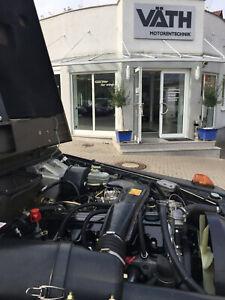 Motor, Motorreparatur Umbau 2,5 Liter 230 GE W460 W461 W463 G-Modell Puch