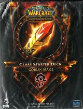 WOW WORLD OF WARCRAFT Class Starter Deck - Goblin Mage NEW SEALED ENG