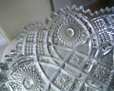 AMERICAN CLEAR GLASS DISH - IMPERIAL GLASS COMPANY - c1910    *