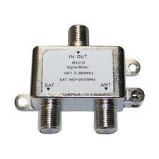 2-Wege-Splitter Sat-Verteiler MX21D 5-2400 Mhz (0023)