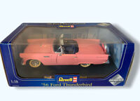 Revell Pink Ford Thunderbird 1956 1:18 Boxed Diecast Toy Car Model Rare (12)