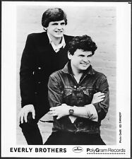 ~ Everly Brothers 1980s Original Mercury Records Photo Phil Everly Don Everly