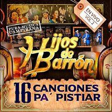 Hijos De Barron - 16 Canciones Pa Pistiar [New CD]