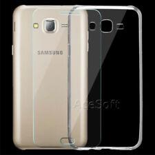 Tempered Glass Screen Protector + Crystal TPU Case f Samsung Galaxy J7 SM-J700T1