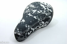 Velo BMX Bike Saddle Tripod Digital Gray Camo