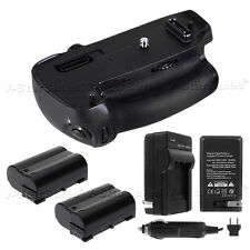 Battery Grip for Nikon D750 MB-D16 + 2x EN-EL15 Batteries + AC/DC Charger