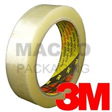 6 x Rolls of 3M Scotch CLEAR Packing Tape 25mm x 66m