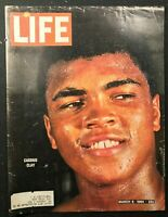 LIFE MAGAZINE - March 6 1964 - MUHAMMAD ALI / Cassius Clay - COVER ONLY