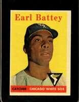 1958 TOPPS #364 EARL BATTEY EXMT WHITE SOX  *XR20180