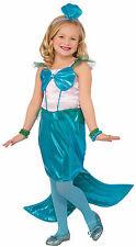 Girls Aquaria The Mermaid Costume Little Mermaid Size Medium 8-10