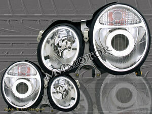 2000-2002 MERCEDES BENZ E-CLASS W210 E320/430 PROJECTOR HEADLIGHTS NEW