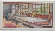 Artists Making Plaster Models Movie Motion Picture Film 80+ Y/O Ad Trade Card