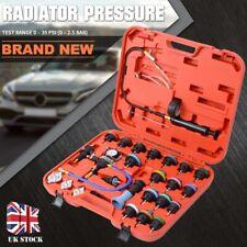 28PC Universal Pneumatic Radiator Pressure Tester Vacuum Cooling System Tool Kit