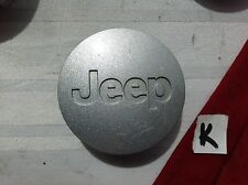 #K (1) Jeep Liberty Grand Cherokee center cap  52090401AB 5HT59TRMAB  SILVER