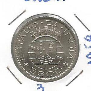 INDIA PORTUGAL 3$00 ESCUDOS 1958