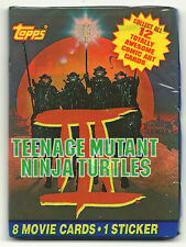 Teenage Mutant Ninja Turtles 3: Turtles in Time Trading Cards (Topps) Wax Pack
