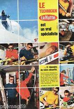 Publicité advertising 1973 Les Magasins de sport Ski La Hutte