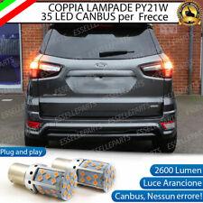 COPPIA LAMPADE PY21W CANBUS 35 LED FORD ECOSPORT MK1 FRECCE POSTERIORI NO ERROR
