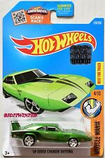 HOT WHEELS 2016 SUPER TREASURE HUNT '69 DODGE CHARGER DAYTONA FACTORY SEALED