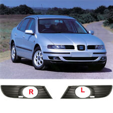 SEAT TOLEDO LEON FRONT LEFT AND RIGHT LOWER BUMPER FOG LIGHT GRILLE 1999-2005