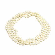 1920s Pearl Beads Necklace Ladies 20s Flapper Fancy Dress