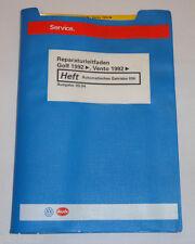 Werkstatthandbuch VW Golf III 3 / Vento Automatisches Getriebe 096 09/1994