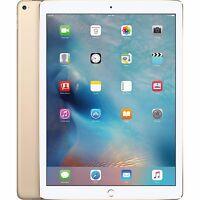 """Apple iPad Pro 12.9"""" Wi-Fi  I 32GB 128GB or 256GB I GOLD GRAY SILVER (R-D)"""
