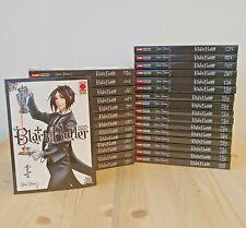 Black Butler 1/30 Serie Completa -  RISTAMPA - Panini Comics ITALIANO NUOVO