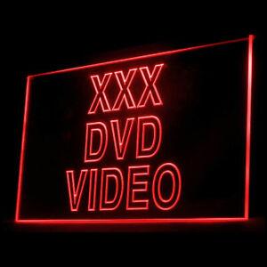 180021 XXX DVD Video Adult Film HD AV Fantasy Japanese Exhibit Neon Sign