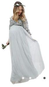 Maya Maternity Bridesmaid Dress Green Size 16