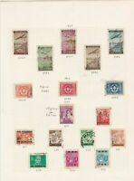 yugoslavia stamps page ref 16828