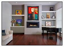 Orlando Botero Apollo Mischtechnik Acryl Malerei Groß Signiert Modern Cubism