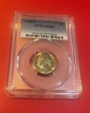 1954-S Jefferson Nickel PCGS MS-63