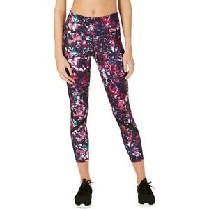 Ideology Womens Leggings Fitness Athletic Workout Abstract Floral 100055958MS XL