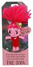 """Watchover """"The Diva"""" Novelty Voodoo Doll Keyring Christmas Gift Collectable New"""