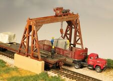 Monroe Models HO Scale Trains 2301 Overhead Gantry Crane Model Railroad Kit