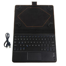 Bluetooth Wireless Keyboard Cover Case with Touchpad for 8 to 8.9 Inch Tablet PC