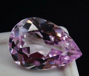 8.85 CT Amazing pinkish white colour morganite Natural loose gemstone Afghanistan mine.