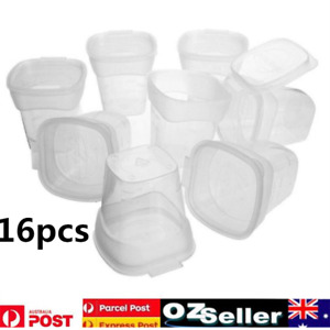 16X Baby KIds Weaning Food Freezing Cubes Feeding Tray Pots Storage Containers
