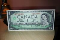 1967 Replacement $1 Dollar Bank of Canada Banknote *BM1160695 VF 20