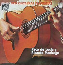 Paco de Lucia y Ricardo Modrego - Dos Guitarras Flamencas (Vinyl-LP Spain 1975)