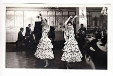 Vintage Photo Flamenco Dancers Castanets 1961 Entertainers New York City Women